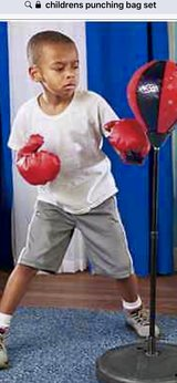 ***BRAND NEW***Kid's Punching Bag Set*** in Cleveland, Texas