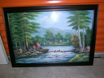 Lake Painting in Bellaire, Texas