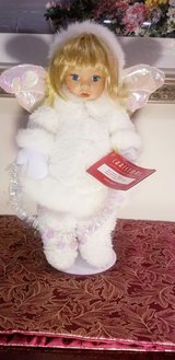 House of Lloyd Christmas Snow Drop Doll White Angel in New Lenox, Illinois