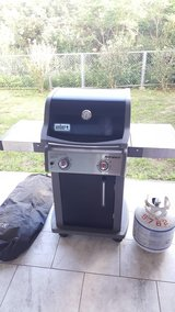 Weber Spirit Gas Grill w/cover & 2 tanks in Okinawa, Japan
