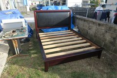 queen bed frame (phone only ) in Okinawa, Japan