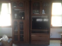 2 piece Entertainment Center/bar/bookcase in Naperville, Illinois