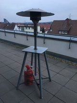 Patio Heater - works great, just never use in Stuttgart, GE