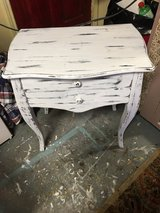 Small in table 2 drawers 14 1/2 inches deep 23 inches wide 26 inches tall in The Woodlands, Texas