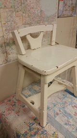 Vintage vanity chair in Plainfield, Illinois