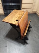 Beautiful Columbia no. 4 school desk in DeRidder, Louisiana