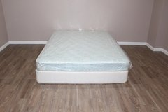 queen size mattress set- Restonic in Tomball, Texas