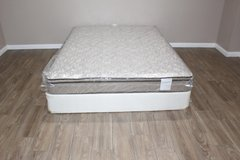 Queen size mattress and boxspring- Hampton and Rhodes HR200 in Tomball, Texas