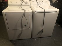 Kenmore washer and maytag electric dryer in Camp Pendleton, California