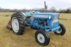 1970 Ford 4000 Tractor and 5' Bush Hog in Rolla, Missouri