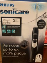 Black Sonicare Series 2 electric toothbrush in Fort Polk, Louisiana