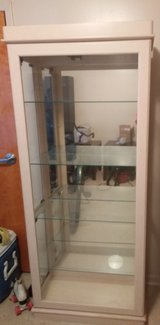 Curio cabinet w/4 glass shelves in Beaufort, South Carolina
