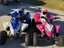 2  ATV'S Polaris outlaws 90cc 4 Wheelers in Kingwood, Texas
