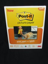 Post-it Picture Paper 8.5 x 11 Matte Finish 20 Sheets / Pack NEW by 3M in Batavia, Illinois