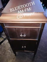 antique Bluetooth CD player am/fm Victrola in Cherry Point, North Carolina