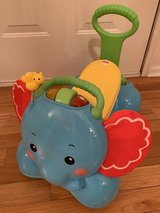Fisher Price 3-in-1 Ride On Elephant in Warner Robins, Georgia
