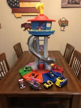Updated-paw patrol tower in Fort Leonard Wood, Missouri