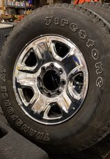 Ram 8 Lug Wheels and Tires in Fort Leonard Wood, Missouri