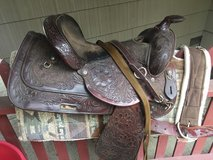 Saddles and misc horse supplies (must take all) in Okinawa, Japan