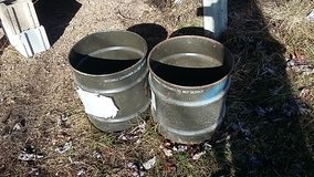 3 gallon-ish metal containers in Fort Leonard Wood, Missouri