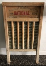 Vintage Washboard in Plainfield, Illinois