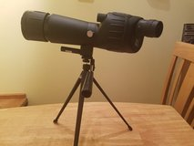 NcStar 20-60x60 spotting scope with tripod in Cherry Point, North Carolina