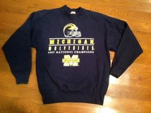 MICHIGAN Wolverines 1997 National Champions sweatshirt Fruit of the Loom size L Large in Camp Lejeune, North Carolina