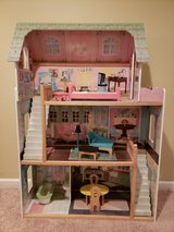 Barbie sized Doll House in Oswego, Illinois