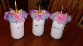 Unicorn centerpieces (3) in Naperville, Illinois