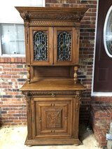 Beautiful antique hunt cabinet in Moody AFB, Georgia
