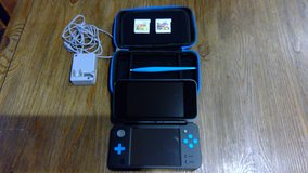 *REDUCED* Nintendo 2DS XL w/Two Games and Case in Lakenheath, UK