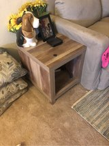 cubed table set/ book shelf in Lawton, Oklahoma