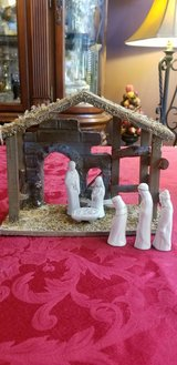 Miniature Nativity Scene in Joliet, Illinois