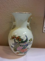 Vintage Imperial Japanese Vase with Peacocks in 29 Palms, California