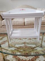 American Girl Retired Bitty Baby Changing Table In Like New Condition in Oswego, Illinois