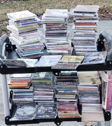 140  Empty CD cases in St. Charles, Illinois