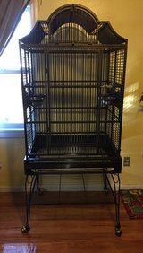 Large parrot cage in Fort Leonard Wood, Missouri