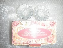 collectors chrystal galleries candle holders in Fort Irwin, California