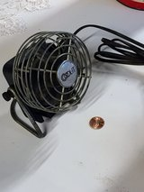 heavy mini antique desk fan in Camp Lejeune, North Carolina