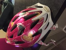 Girls bike helmet-used just one time! in Bartlett, Illinois