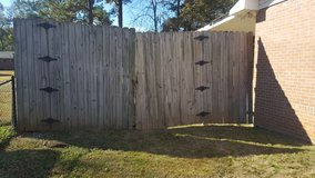 Wood fencing in Columbus, Georgia