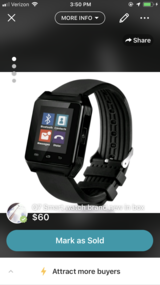 Q7 Smart watch brand new in box in Fort Campbell, Kentucky