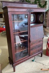 Mahogany Curio Drop Front Desk in Fort Leonard Wood, Missouri