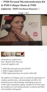 PMD Microderm Kit, Lip Plumping Kit, Foreo Unit ALL BRAND NEW in Baytown, Texas