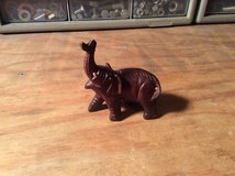 Hand Carved Wooden Elephant in bookoo, US