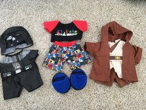 Build a Bear Star Wars: Jammies, Jedi and Darth Vader Costumes in Naperville, Illinois