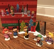 Dept 56 peanuts tree lot set in Schaumburg, Illinois