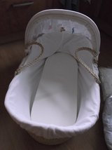 Moses basket and accessories in Lakenheath, UK