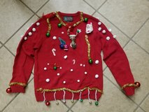 Large Ugly Christmas Sweater in Fort Bliss, Texas