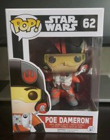 NEW Funko Pop Poe Dameron Star Wars from The Force Awakens #62 Vinyl Figure in Joliet, Illinois